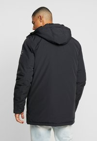 Calvin Klein Jeans - TRIMMED HOODED PADDED  - Dunfrakker - black - 4