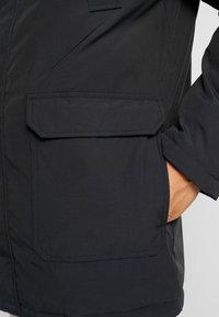 Calvin Klein Jeans - TRIMMED HOODED PADDED  - Dunfrakker - black - 6