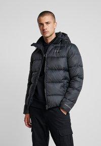 Calvin Klein Jeans - MONOGRAM PADDED JACKET - Talvitakki - black - 0
