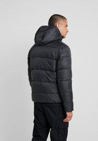 Calvin Klein Jeans - MONOGRAM PADDED JACKET - Talvitakki - black - 2