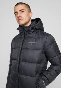 Calvin Klein Jeans - MONOGRAM PADDED JACKET - Talvitakki - black - 5