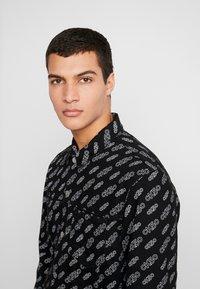 Calvin Klein Jeans - OMEGA JACKET - Džínová bunda - washed black - 3