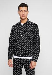 Calvin Klein Jeans - OMEGA JACKET - Džínová bunda - washed black - 0