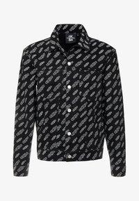 Calvin Klein Jeans - OMEGA JACKET - Džínová bunda - washed black - 5