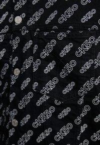 Calvin Klein Jeans - OMEGA JACKET - Džínová bunda - washed black - 6