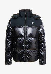 Calvin Klein Jeans - HIGH SHINE PADDED PUFFER - Veste d'hiver - black - 4