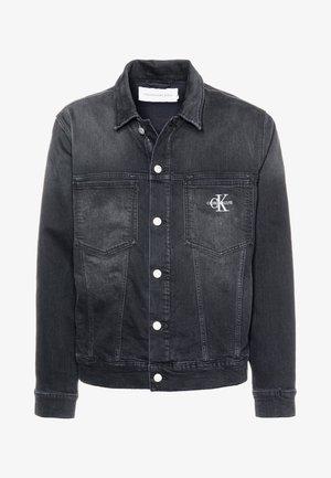 OVERSIZED ICONICS OMEGA - Giacca di jeans - ca049 black