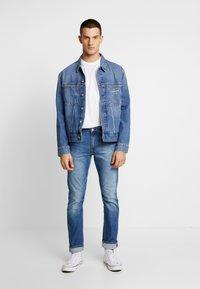 Calvin Klein Jeans - ICONICS OMEGA JACKET - Denim jacket - mid blue - 1