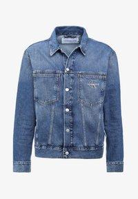 Calvin Klein Jeans - ICONICS OMEGA JACKET - Denim jacket - mid blue - 4