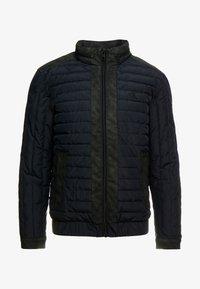 Calvin Klein Jeans - PADDED HOOD ZIP THROUGH - Kurtka przejściowa - black - 6