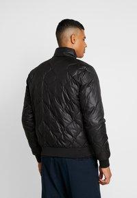 Calvin Klein Jeans - QUILTED JACKET - Bomberjacks - black - 2