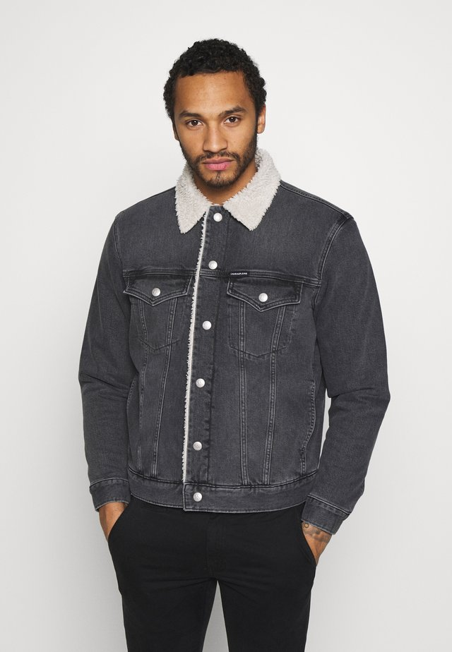 FOUNDATION JACKET - Veste en jean - grey