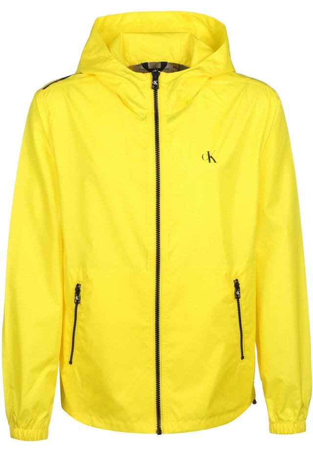 ZIP THROUGH HD JACKET - Veste légère - yellow
