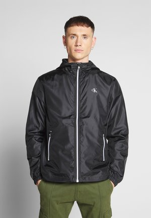 ZIP THROUGH HD JACKET - Lehká bunda - black