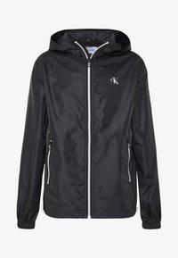 Calvin Klein Jeans - ZIP THROUGH HD JACKET - Kevyt takki - black - 5