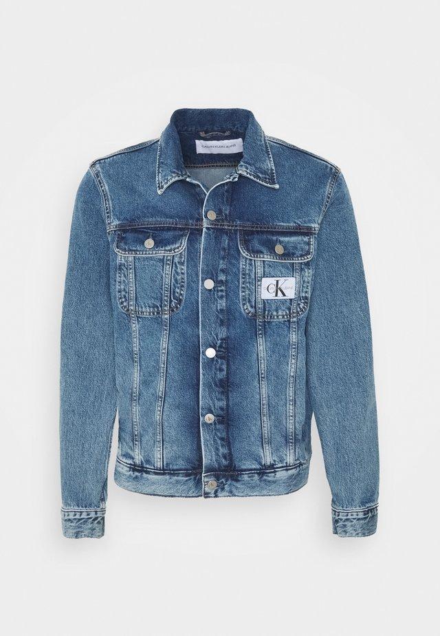 90S JACKET - Spijkerjas - mid blue