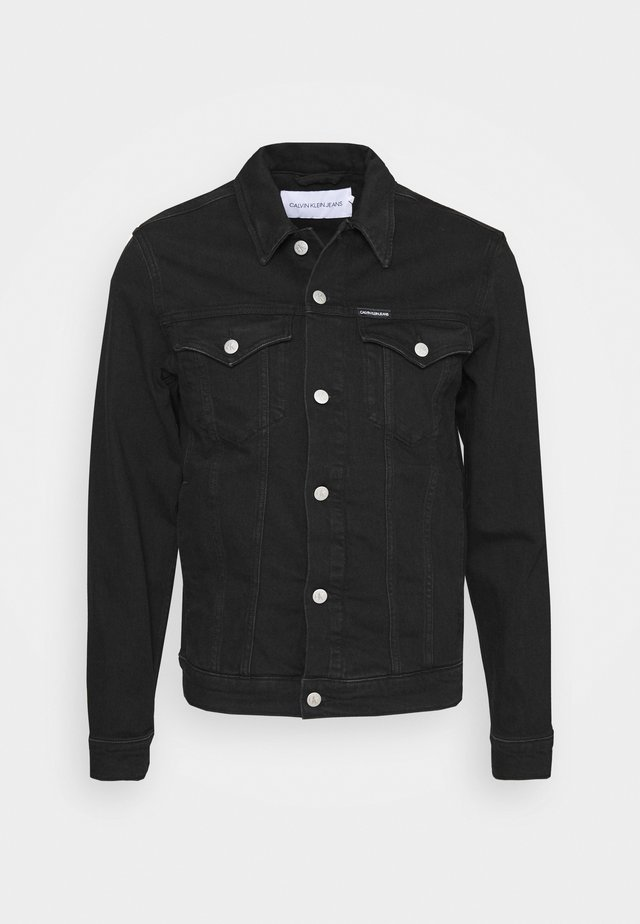 FOUNDATION SLIM - Veste en jean - washed black