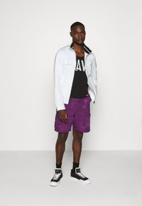 Calvin Klein Jeans - ZIP UP HARRINGTON - Tunn jacka - bright white - 1