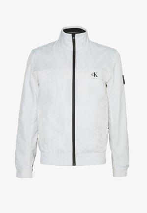 ZIP UP HARRINGTON - Giacca leggera - bright white