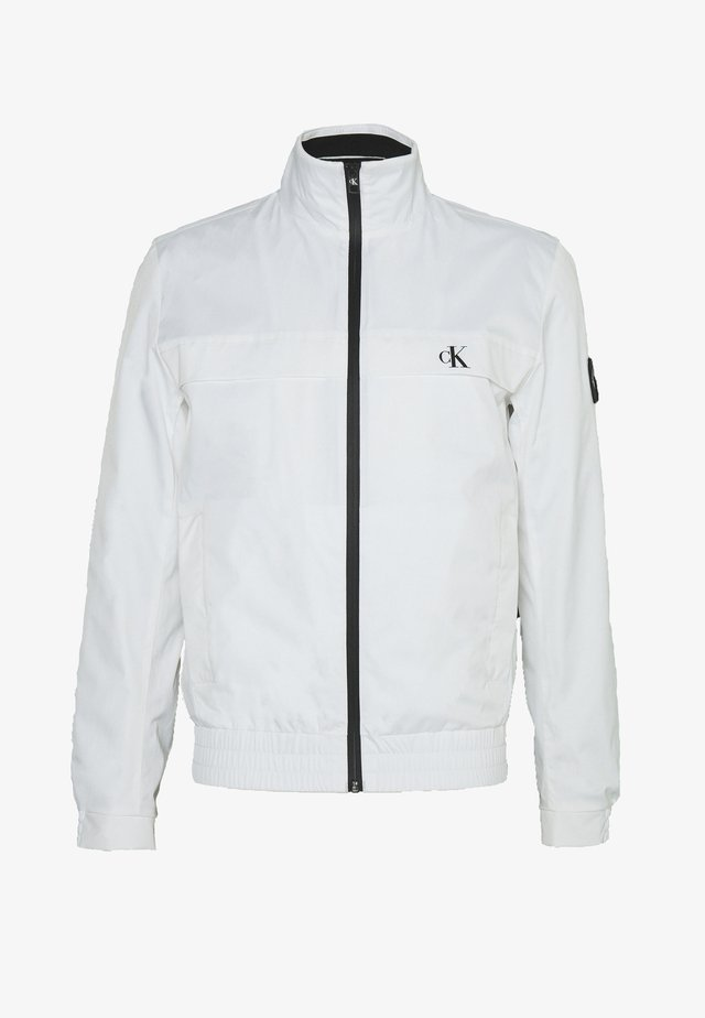 ZIP UP HARRINGTON - Korte jassen - bright white