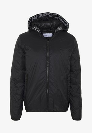 LOGO PADDED JACKET - Light jacket - black