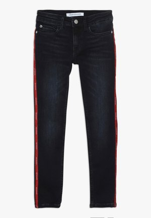 SKINNY MR LOGO TAPE INKY STRETCH - Jeans Skinny Fit - denim