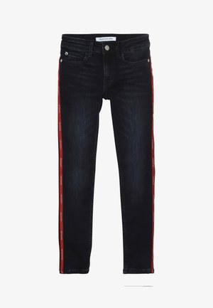 SKINNY MR LOGO TAPE INKY STRETCH - Jeans Skinny Fit - denim