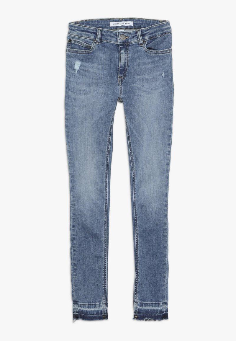 Calvin Klein Jeans - SKINNY MEDIUM RISE - Jeans Skinny Fit - denim