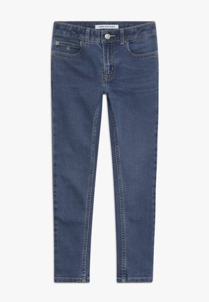SUPER SKINNY FRESH - Skinny džíny - denim