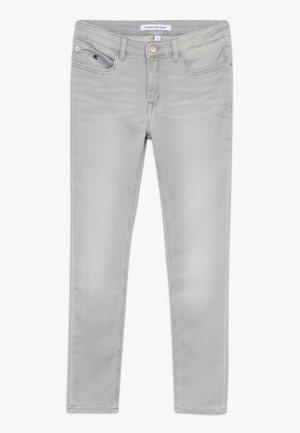 SKINNY ANKLE - Skinny džíny - grey denim