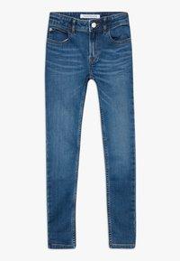 Calvin Klein Jeans - SUPER SKINNY PASS - Jeans Skinny Fit - blue denim - 0