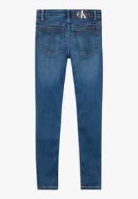 Calvin Klein Jeans - SUPER SKINNY PASS - Jeans Skinny Fit - blue denim - 1