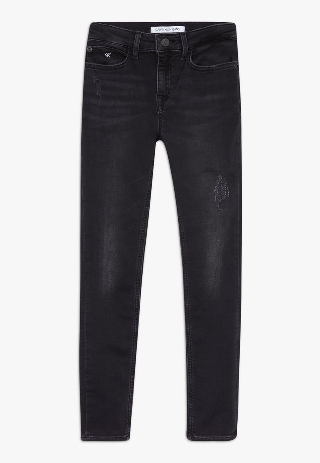 SKINNY ATHLETIC  - Jeans Skinny Fit - black
