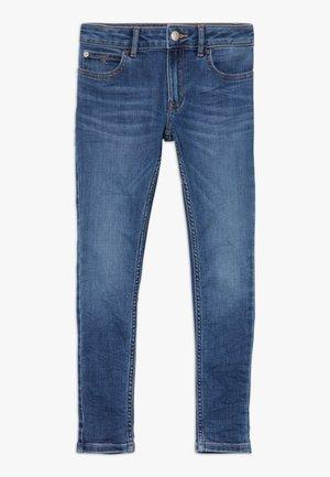 PASS STRETCH - Skinny džíny - blue