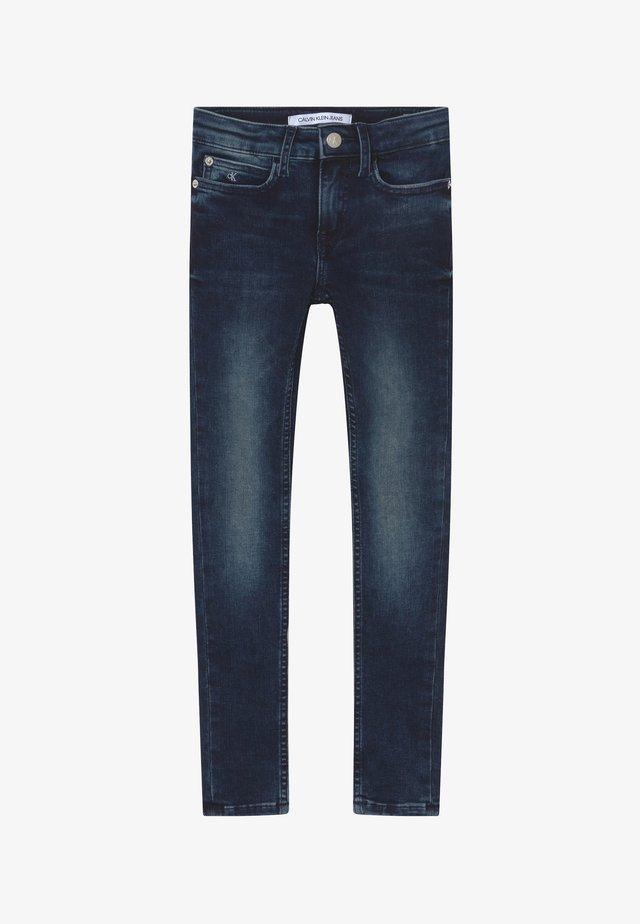 SUPER SKINNY - Jeans Skinny - blue