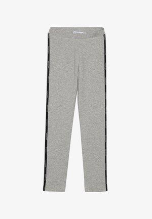 LOGO TAPE - Leggings - grey