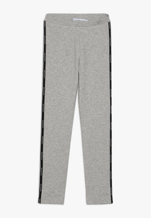 LOGO TAPE - Leggings - Trousers - grey