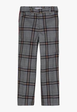 CHECK PANTS - Kalhoty - grey