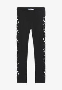 Calvin Klein Jeans - MIRROR MONOGRAM - Legginsy - black - 2