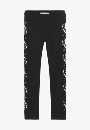 MIRROR MONOGRAM - Leggings - black