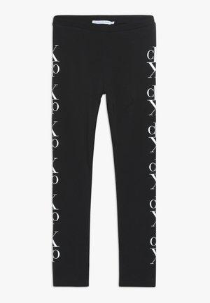 MIRROR MONOGRAM - Leggings - black