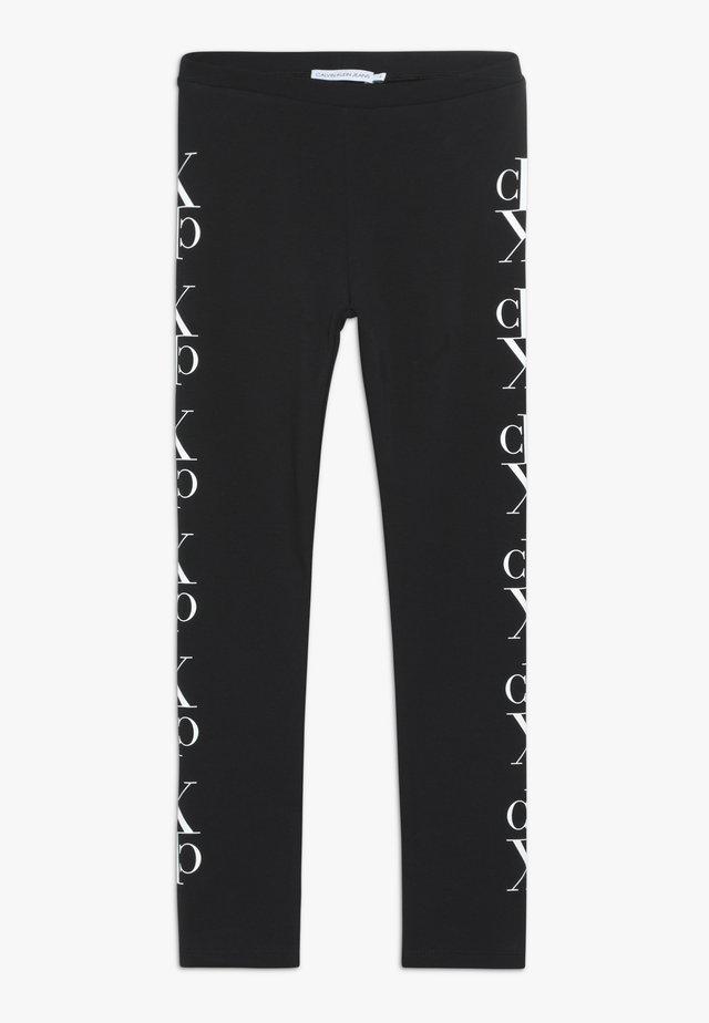 MIRROR MONOGRAM - Legging - black