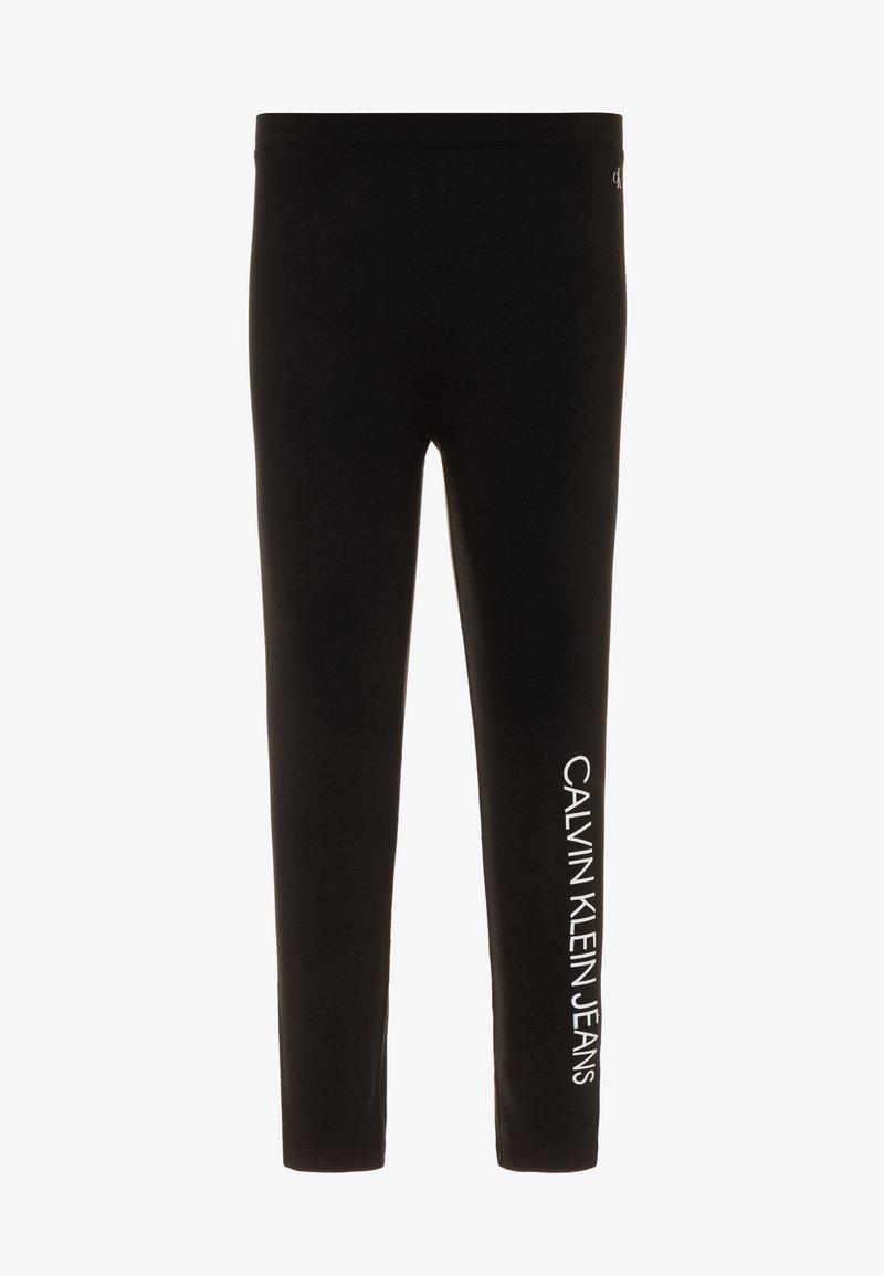 Calvin Klein Jeans - INSTITUTIONAL - Leggings - black