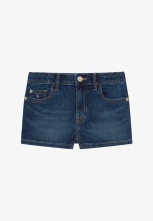 STRAIGHT - Shorts di jeans - denim