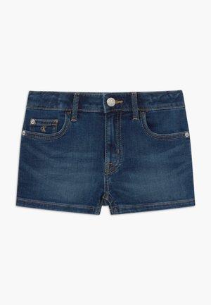 STRAIGHT - Denim shorts - denim