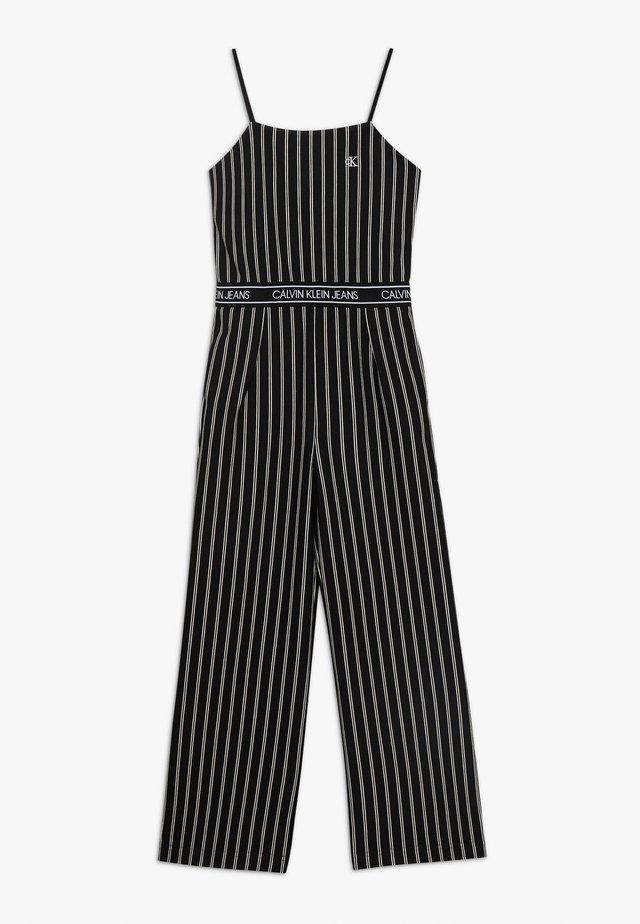 CITY STRIPE STRAP - Jumpsuit - black