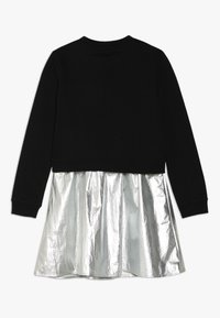 Calvin Klein Jeans - 2IN1 LOGO DRESS - Mikina - silver - 1