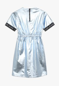 Calvin Klein Jeans - METALLIC DRESS - Vestido ligero - blue - 1
