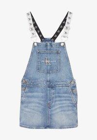 Calvin Klein Jeans - DUNGAREE DRESS  - Denim dress - denim - 3