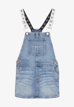 DUNGAREE DRESS  - Denimové šaty - denim